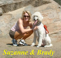 Suzanne and Brady