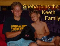 Sheba joins the Keeth Family in Mexico